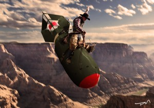 slim pickens does the right thing and rides the bo by dmelges-d54375v
